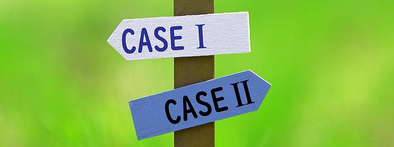 CASEと書かれた看板